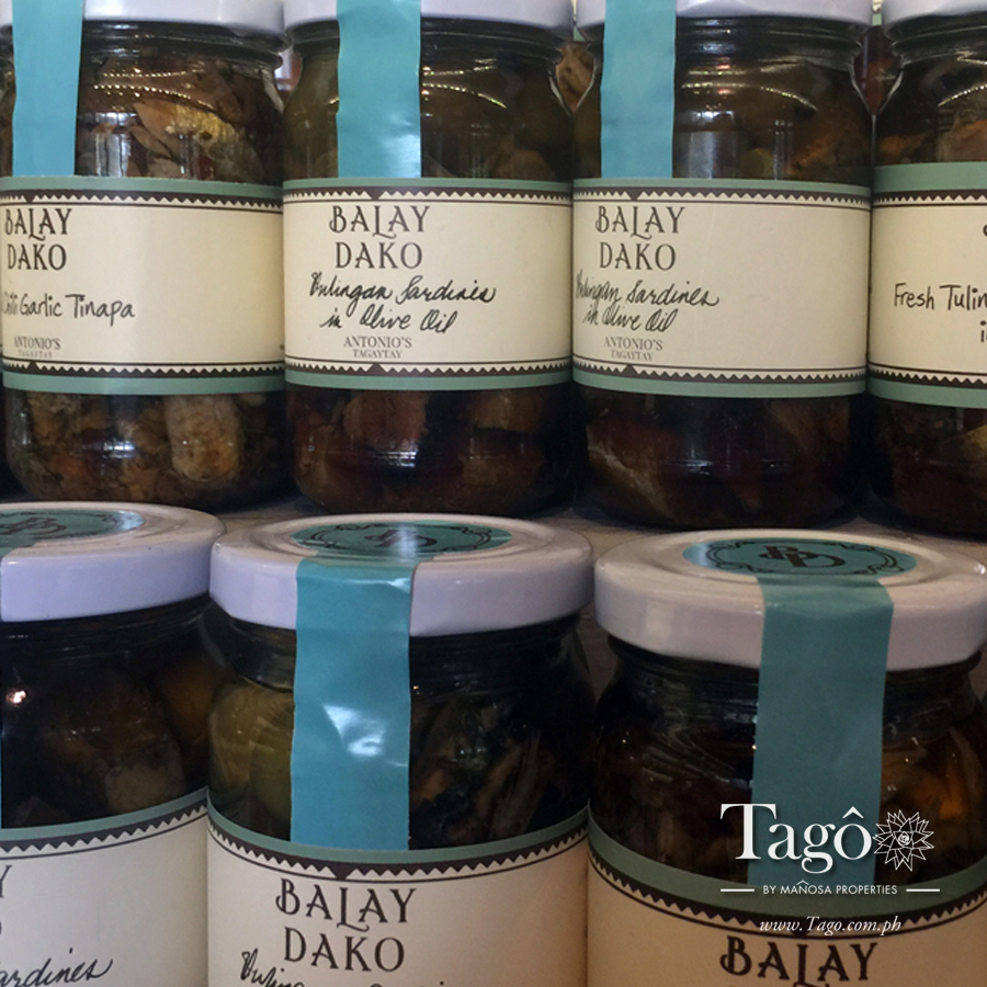 Another Tagaytay favorite: the gourmet sardines, tinapa, and tuyo over at Balay Dako.