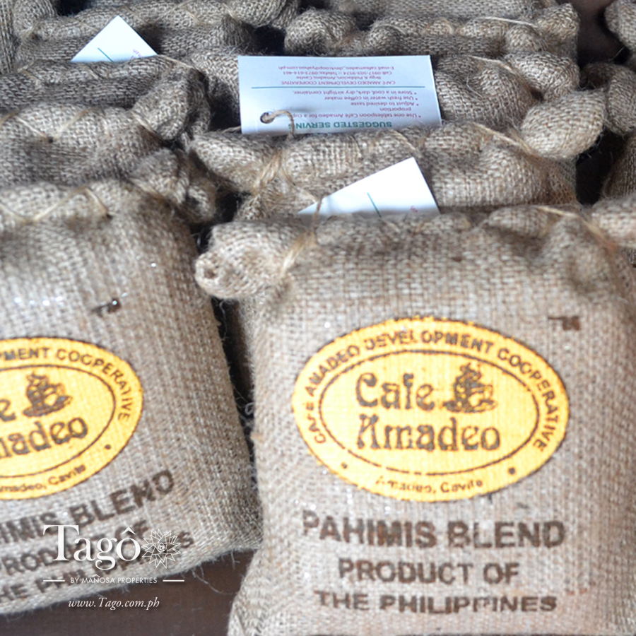 "Rising up to the challenge of the ""One Town One Project"" campaign, the town of Amadeo has made its own signature coffee blend they call ""Pahimis""."